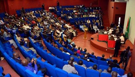 Le parlement burkinabé