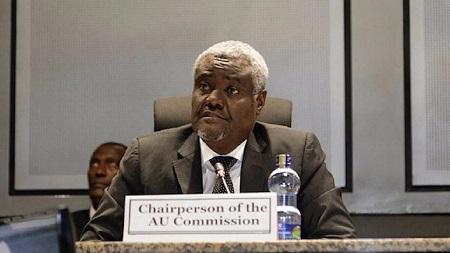 Le chef de l'Union Africaine (UA), Moussa Faki Mahamat
