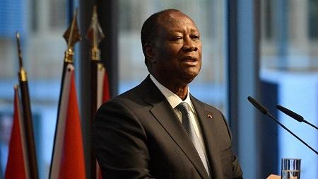 Alassane Dramane Ouattara, président de la république de côte d'ivoire