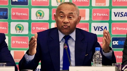 Le Malgache Ahmad, président de la CAF. RFI / Pierre René-Worms