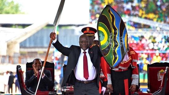 Le président Tanzanien, John Magufuli