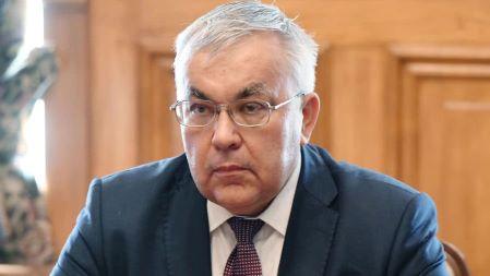 Le vice-ministre des affaires étrangères de la Fédération de Russie Sergey Vershinin à la conférence internationale sur la Libye, Berlin, le 23 juin 2021
