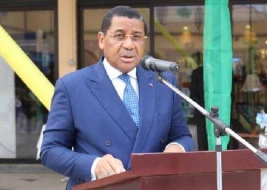 Le président de la Commission de la CEMAC, le Pr Daniel Ona Ondo