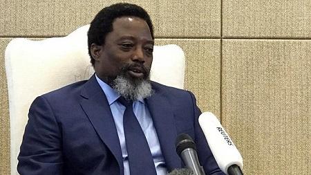 L'ancien président de la RDC Joseph Kabila