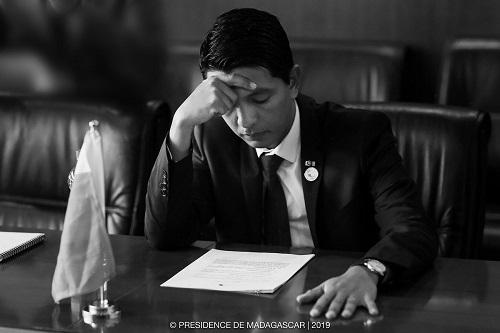 Andry Rajoelina, Président de la République de Madagascar