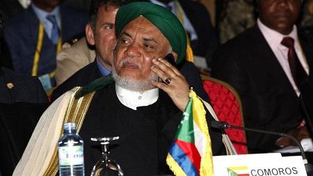 L'ex-président comorien Ahmed Abdallah Sambi