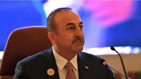 Le ministre turc des Affaires étrangères, Mevlut Cavusoglu, est en voyage sur le continent africain, au Togo, Niger et Guinée équatoriale. REUTERS/Waleed Ali/File Photo