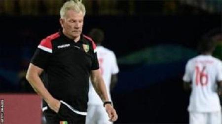 Paul Put a été limogé par la Fédération guinéenne de football en juillet dernier.. GETTY IMAGES