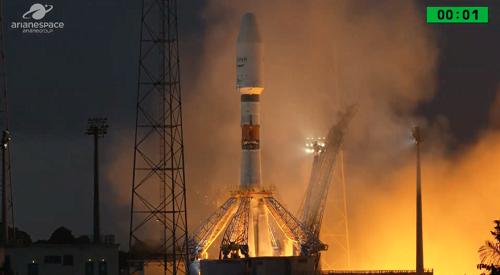 « Icyerekezo », le premier satellite du Rwanda lancé depuis Kourou en Guyane française