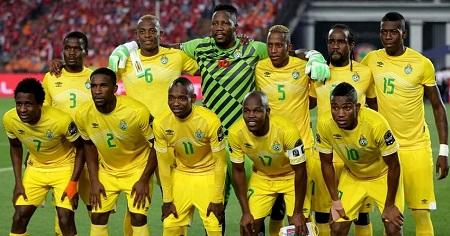 L'équipe nationale du Zimbabwe