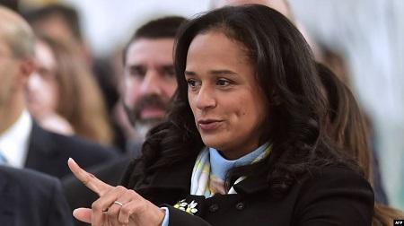 Isabel dos Santos, fille de l'ex président angolais Jose Eduardo dos Santos