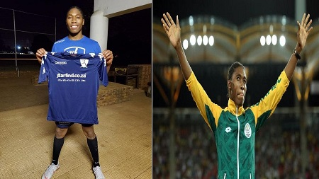 L'athlète hyperandrogène Caster Semenya