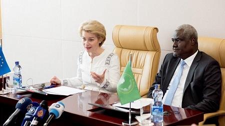 Mr Moussa Faki Mahamat et Mme von der Leyen