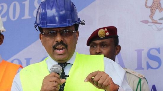 """Le président somalien Mohamed Abdullahi Mohamed, dit """"Farmajo"""""""