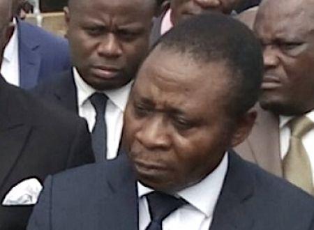 Gaston Eloundou Essomba, ministre de l'Eau et de l'Energie (Minee)
