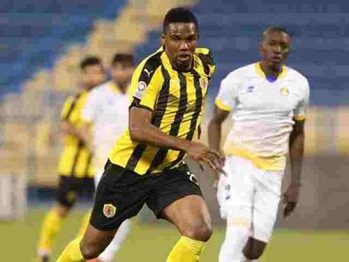 Samuel Eto'o joue au Qatar Sport Club