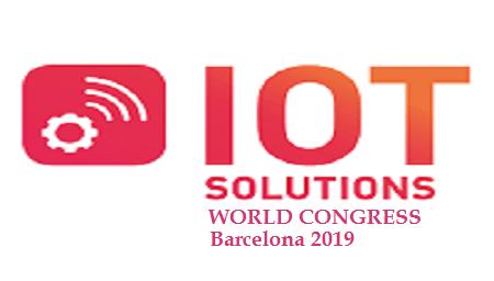 IOT Solutions World Congress Barcelona 2019, du 29. - 31. octobre 2019