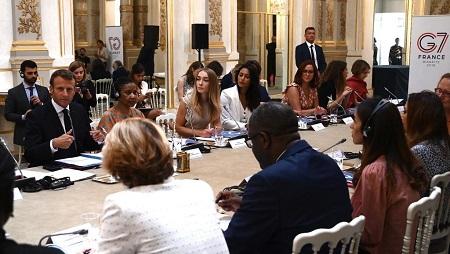 Dans son rapport final, le Conseil consultatif du G7 a listé pas moins de 79 bonnes pratiques pour l'égalité entre les femmes et les hommes. Philippe LOPEZ / POOL / AFP