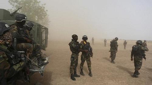 L'armée camerounaise dans la ville de Garoua