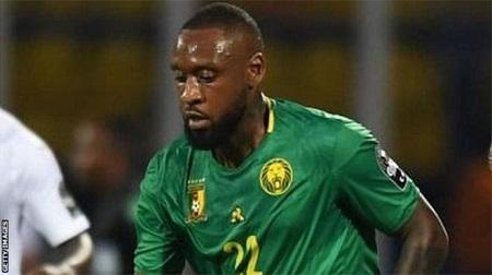 Jean Armel Kana-Biyik lors du match du Cameroun contre le Ghana (0-0) à la Coupe d'Afrique des nations 2019. GETTY IMAGES