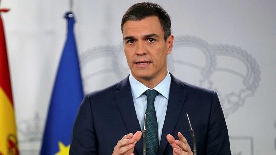 Pedro Sanchez,  président du gouvernement espagnol .Photo: TVE