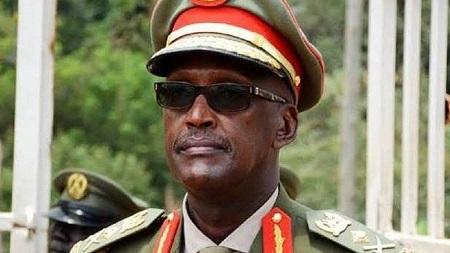 Le général Henry Tumukunde, haut gradé ougandais et  ancien ministre