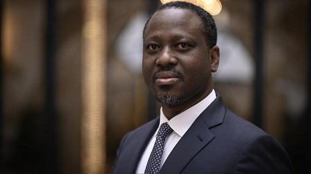 Guillaume Soro,  candidat à l'élection présidentielle de 2020