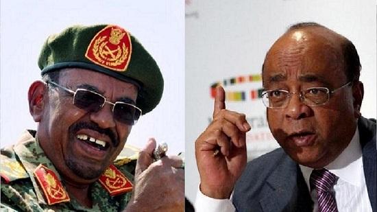 Le président soudanais Omar el-Béchir et Mo Ibrahim