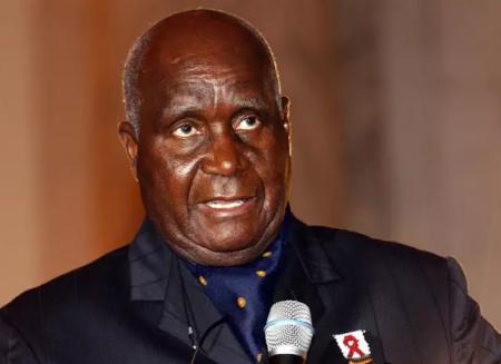 L'ancien président zambien Kenneth Kaunda. Photo: GETTY IMAGES