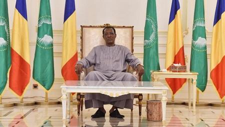 Le président tchadien, Idriss Déby, à Ndjamena, le 29 décembre 2016. © REUTERS/Alain Jocard/Pool