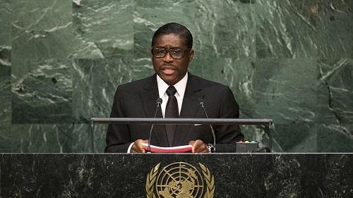Teodorin Obiang, fils du chef de l'Etat de la Guinée équatoriale