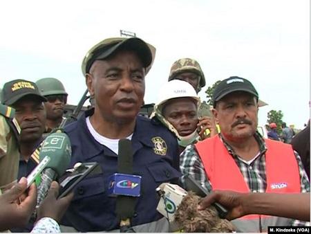 Le colonel Jackson Kamgain, directeur du corps des ingénieurs militaires camerounais