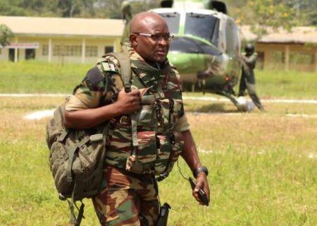 Le Capitaine de Vaisseau Cyrille Serge ATONFACK GUEMO, Chef de Division de la Communication / MINDEF
