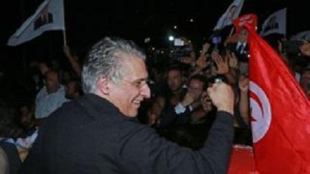 Le magnat des médias avait été arrêté en août avant le premier tour de l'élection présidentielle. GETTY IMAGES
