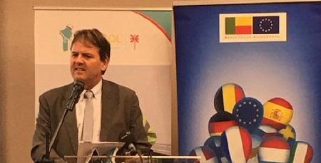 Oliver Nette, ressortissant allemand et chef de la délégation de l'UE à Cotonou au Bénin
