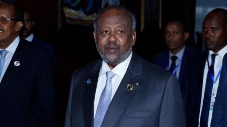 Le président djiboutien Omar Guelleh