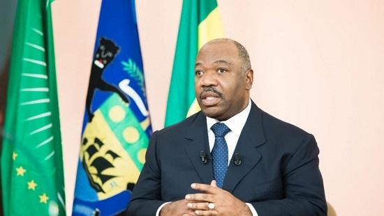 Le président Ali Bongo lors de ses vœux télévisés aux Gabonais le 31 décembre 2018. © Présidence de la République gabonaise