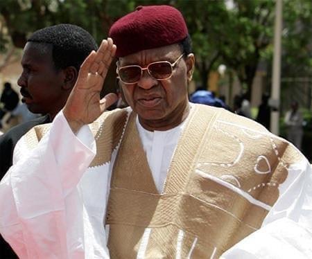 L'ancien président nigérien Mamadou Tandja. AFP