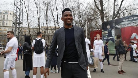 Samuel Eto'o, idole absolue au Cameroun