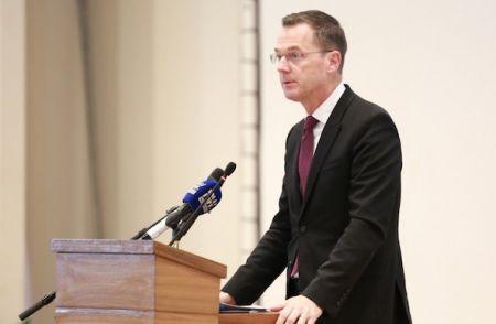 Sérgio Pimenta, vice-président de la SFI pour l'Afrique et le Moyen Orient