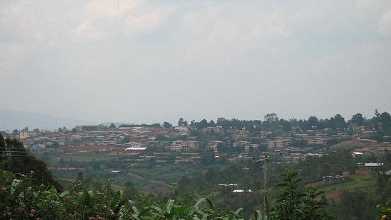 Vue de Gitega, au Burundi. © Wikimedia Commons / Public Domain