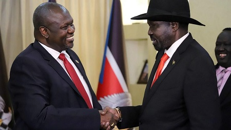 L'ancien chef rebelle est non-partant pour la formation d'un gouvernement d'union avec le président Salva Kiir