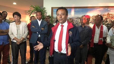 Le parti de l'ex-président Marc Ravalomana, le TIM, n'a obtenu que 16 sièges de députés, selon les résultats provisoires de la Céni. © RFI/Laetitia BEZAIN