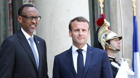 Paul Kagame reçu à l'Élysée pour réchauffer les relations entre la France et le Rwanda. Photo: france24