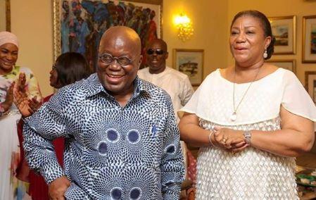 Le Président Akufo-Addo et son épouse Rebecca Akufo-Addo