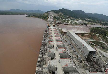 Le grand barrage de la Renaissance éthiopienne - REUTERS/TIKSA NEGERI