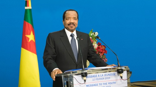 Le président de la république Paul Biya, s'est adressé à la jeunesse en prélude au 11 février 2019