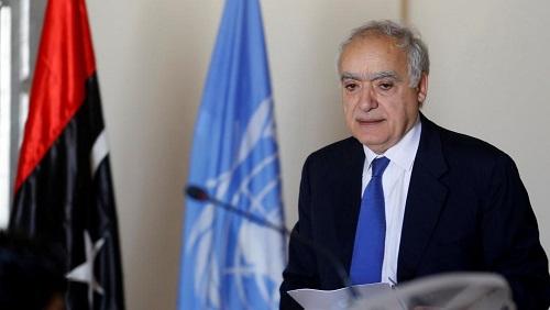 L'émissaire spécial de l'ONU pour la Libye Ghassan Salamé, à Tunis le 26 septembre 2017. © REUTERS/Zoubeir Souissi
