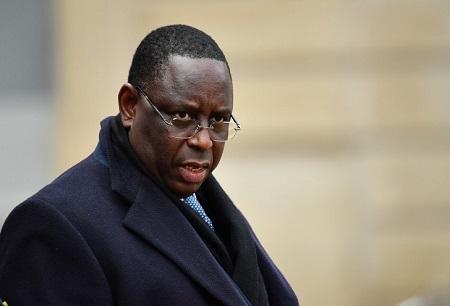Le président sénégalais Macky Sall . MUSTAFA YALCIN/ANADOLU AGENCY/AFP