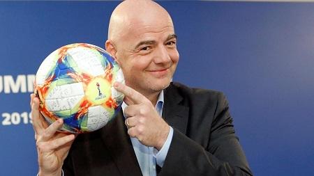 Gianni Infantino réélu pour un deuxième mandat à la tête de la Fifa par acclamation